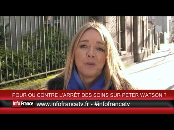 Hélène se bat avec Info France