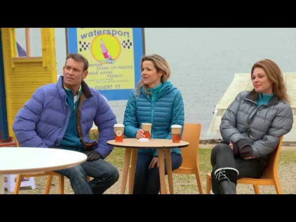 Le water sport en hiver ça marche ou pas lol avec Béné, Olga et Jimmy