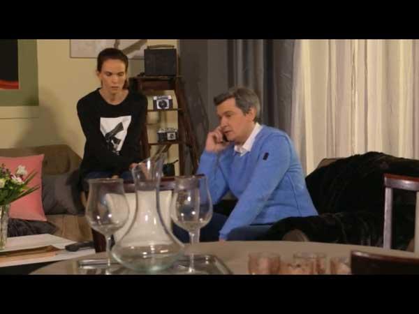 José et Cathy parlent à Hélène : ils la soutiennent