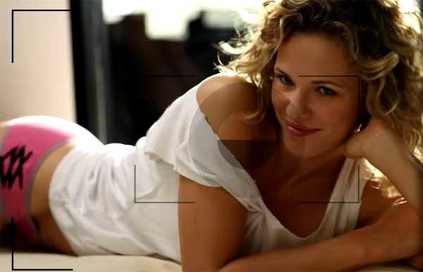 Lorie actrice pour France 3 dans Meurtres à Grasse  / Capture écran clip les divas du dancing