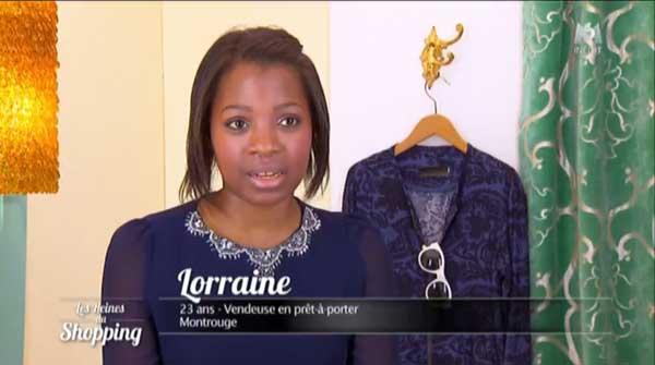 Avis et commentaires sur Lorraine dans les reines du shopping , la petite peste de la semaine ?