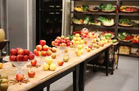Le beau garde-manger à base de pommes pour Top Chef / Photo Pierre Olivier-m6