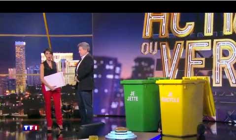 Réactions et avis sur Jean Mélenchon sur TF1 dans Action ou Vérité le talk show du vendredi
