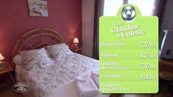 Les notes de Claudine et Colette dans Bienvenue chez nous : mal parties pour gagner !