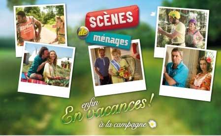 Avis et commentaires sur Scènes de ménages en vacances à la campagne du 9 mars 2016 / Photo M6