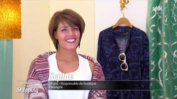 Avis et commentaires sur Sophie la belge dans les reines du shopping