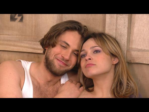 Sylvain et Chloé toujours aussi proches