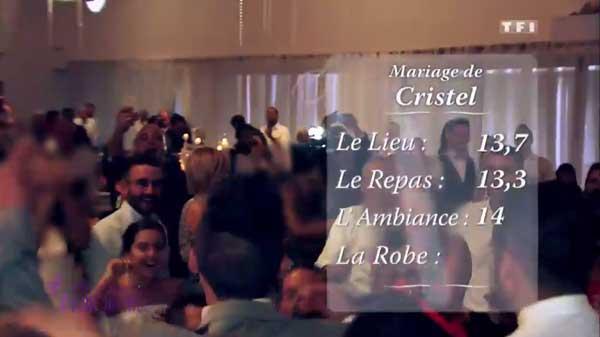 Les notes du mariages de Cristel et Bruno