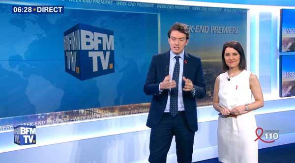 L'image sur BFMTV à 100% : fini le le bandeau défilant des dernières infos : ça vous plait ?
