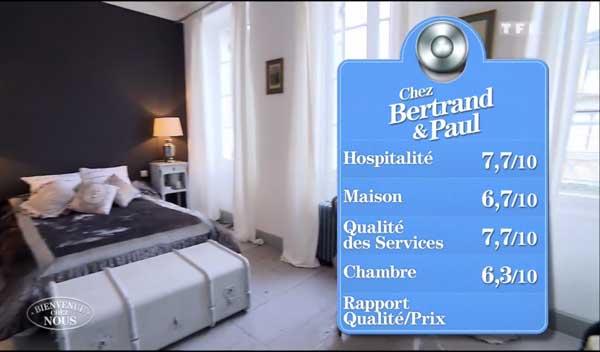 Les bonnes notes de Bertrand et Paul vont-elles leur permettre de gagner la finale de Bienvenue chez nous du 08/04 ?