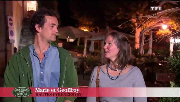 Marie et Geoffroy les pro-du bien être dans leur demeure !