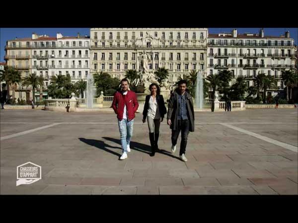 Direction Toulouse pour la semaine de Chasseurs d'appart de M6