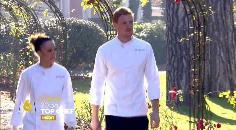 Coline et Thomas en demi-finale Top Chef le 11/04/2016 avec Xavier : qui est le meilleur ?