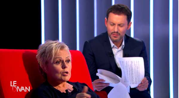 Avis et réactions sur Le divan de Muriel Robin le 19/04/2016