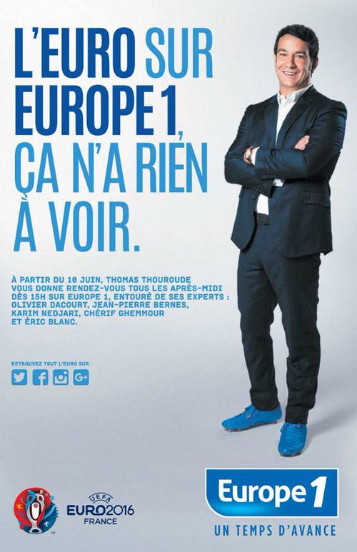 Vos avis sur l'arrivée de Thomas Thouroude sur Europe 1