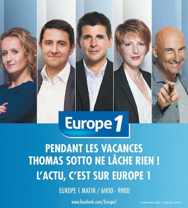 Europe 1 quels changements à la rentrée 2016 ?