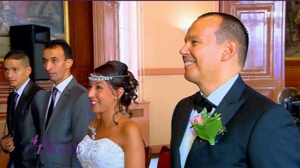 Avis et commentaires sur le mariage d'Hafida et Stéphane dans 4 mariages pour 1 lune de miel