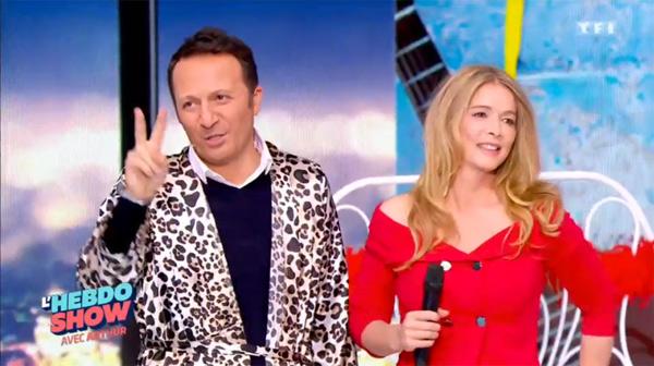 Hélène de LMDLA dans l'hebdo show de TF1