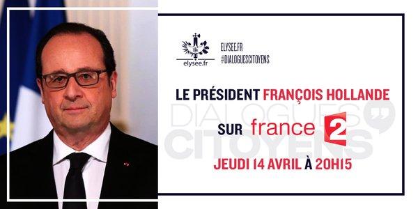 Le forum de Dialogues Citoyens avec Hollande sur France 2