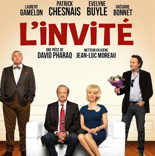 Avis et commentaires sur L'invité la pièce avec Patrick Chesnais sur France 2