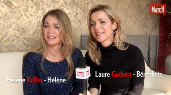Hélène et Béné amies dans la vie et dans la série #LMDLA