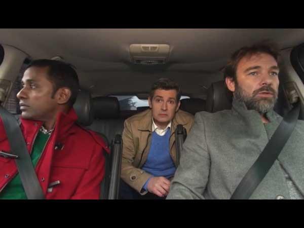 Rudy, José et Nicolas en pour le commissariat !