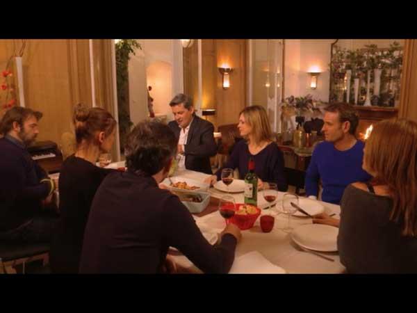 Repas d'amis entre révélations et secrets : José ne parle qu'aux garçons de ce qui va pas avec Cathy