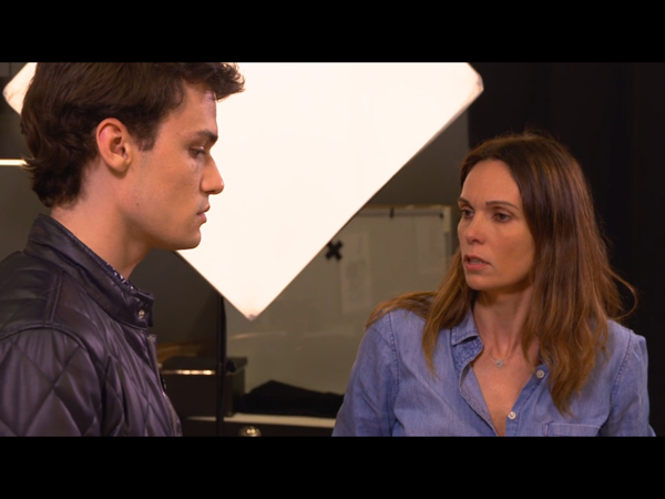 Clash entre Cathy et Julien son fils : moment d'émotion