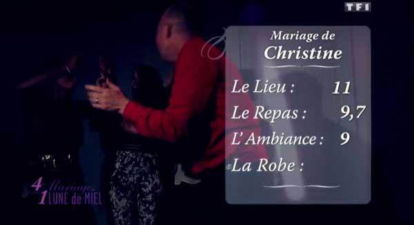 Les notes de Christine et Philippe