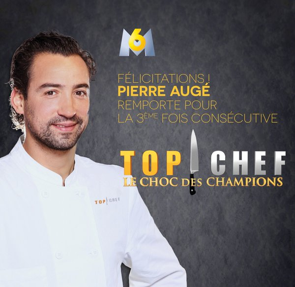 Pierre Augé gagnant Le choc des champions de Top Chef