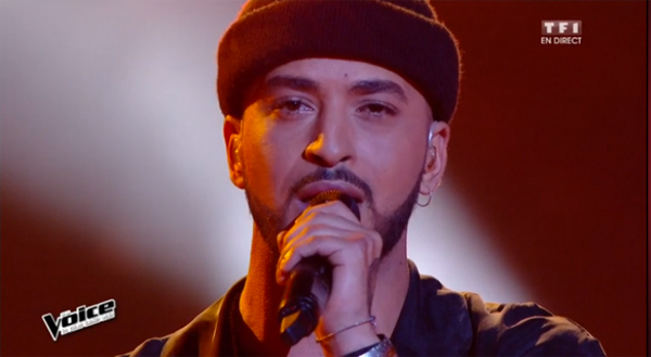 Slimane excellent pour les live The Voice 2016