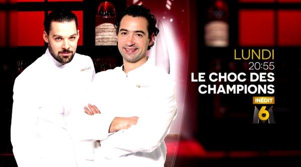 Xavier Pincemin vs Pierre Augé le duel Top Chef du 26/04/2016 dans le choc des champions