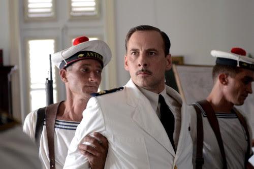 Fred Testot dans Rose et l soldat / crédit photo Bernard Barbeau FTV