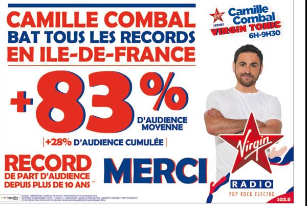 Virgin Tonic : de retour en septembre 2016 avec Camille Combal