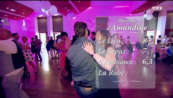 Le mariage d'Amandine et Xavier très critiqué et des notes très basses