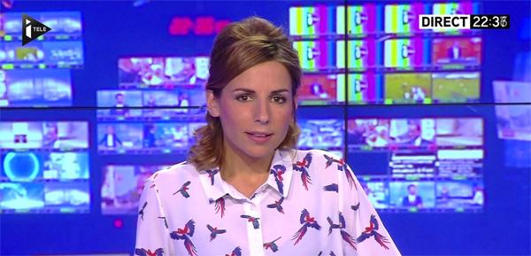 Alice Darfeuille chroniqueuse ONPC à la place de Léa Salamé, vous aimez ? / Photo @vuesalatele