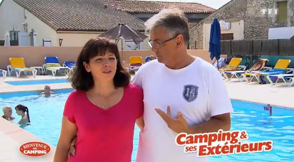 Vos avis sur le camping d'Amandine et Bernard sur TF1 dans Bienvenue au camping