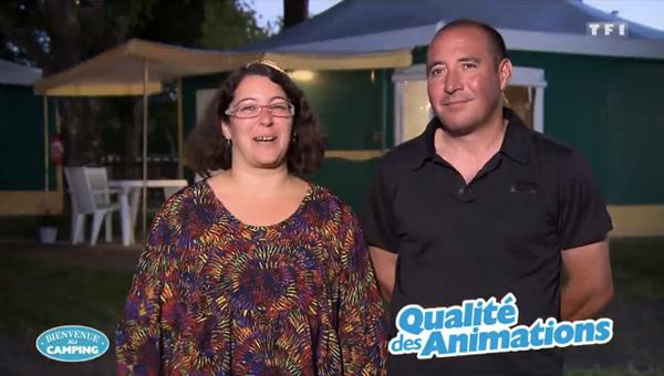 Vos avis et commentaires sur Aude et Yannick sur TF1 avec leur camping nature