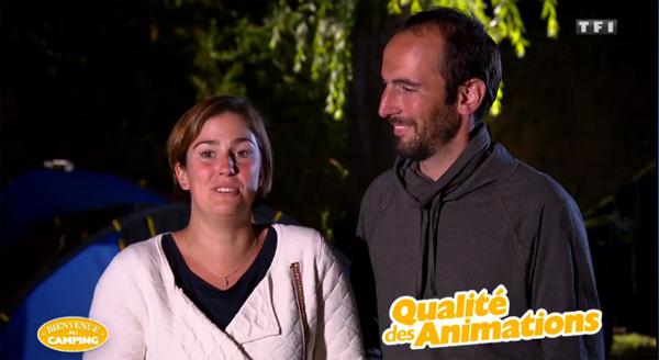 Avis et commentaire sur le camping avec bulle de Julie et Sébastien dans Bienvenue au camping