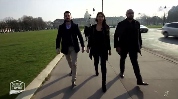 Les 3 agents de Chasseurs d'appart sur M6 cette semaine !