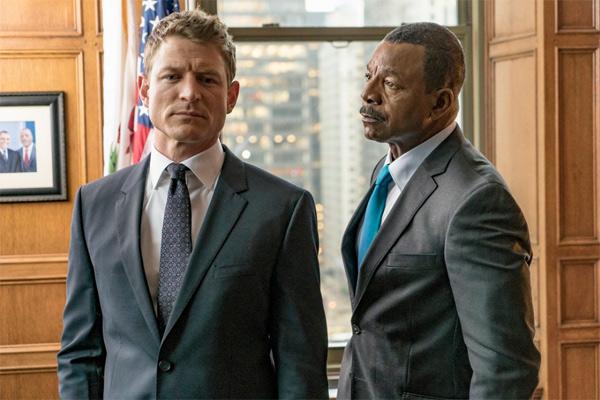 L'équipe de Chicago Justice sur NBC