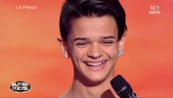 Enzo le grand gagnant Superkids W9