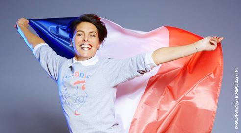 Réagissez au concert d'ouverture de l'Euro 2016 à Paris avec Alessandra Sublet sur TF1