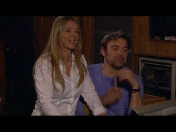 Hélène et Nicolas au studio toujours plus proches !