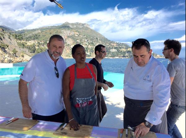 Les soutiens à Emmanuel Maubert malade, victime d'un arrêt cardiaque / Photo @EmmanuelMaubert du tournage avec babette