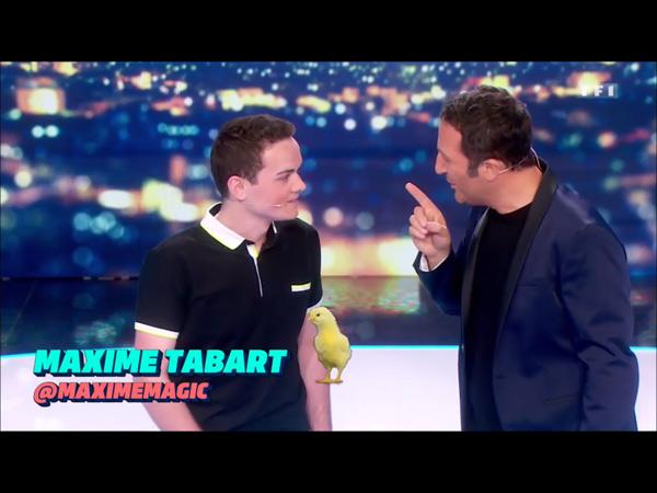 Maxime Tabart la révélation d'Arthur dans le Cinq à Sept / 5 à 7 de TF1
