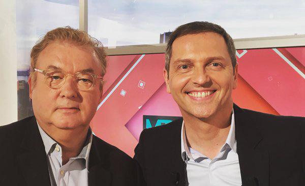 Thomas Hugues et Dominique Besnehard pour la dernière #mediaslemag