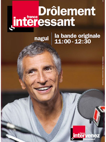 Nagui dans les programmes France Inter de la rentrée 2016 ? ?