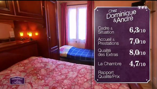 Les bonnes notes de  l'hôtel de Dominique et Dédée