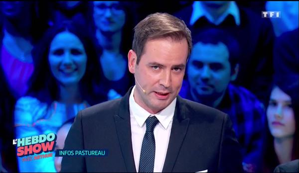 Vos avis et commentaires sur Tanguy Pastureau dans l'Hebdo show